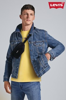 Levi's® Mid Wash Lined Denim Trucker Jacket