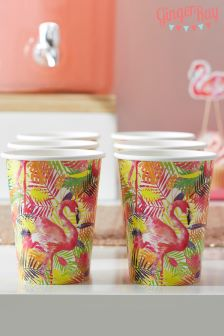 Ginger Ray Flamingo Paper Cups