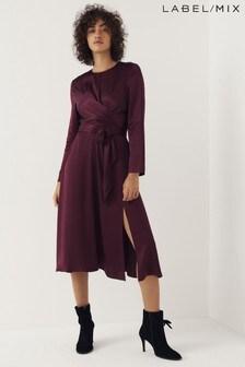 Mix/Kitri Studio Tie Wrap Dress