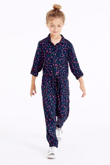 Long Sleeve Boiler Suit (3-16yrs)