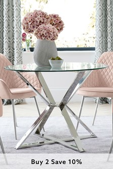 Claro Round Dining Table