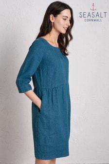 שמלה בצבע טורקיז כהה דגם Wild Orchid של Seasalt