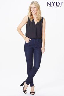 NYDJ Ami Skinny-Jeans in dunkelblauer Waschung