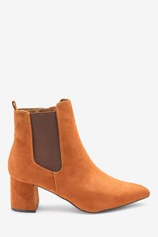 Forever Comfort® Block Heel Ankle Boots