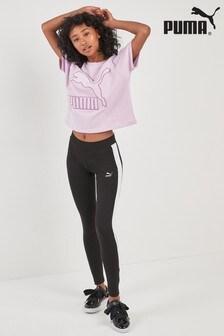 Puma® Black Classic Logo T7 Legging