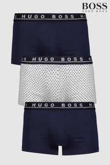 BOSS Print Boxers Three Pack