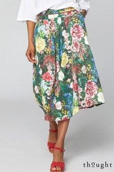 Thought Green Leolani Skirt