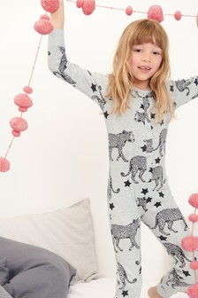 Leopard Jersey All-In-One (3-16yrs)