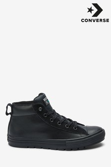 Converse Chuck Taylor Leather Mid Trainers