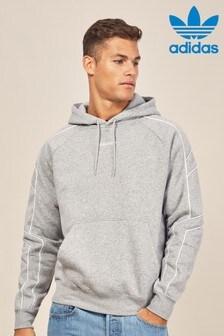 Sweat à capuche adidas Originals EQT gris