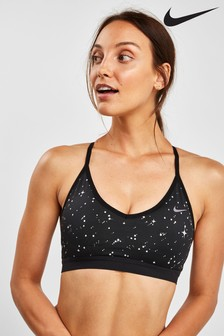 Nike Starry Night Black Indy Bra