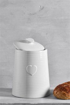 Heart Bread Bin