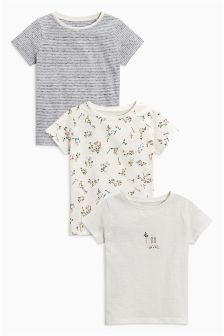 T-Shirts Three Pack (3mths-6yrs)