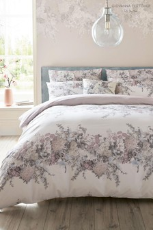 Giovanna Fletcher Exclusive To Next Halcyon Floral Duvet Cover and Pillowcase Set