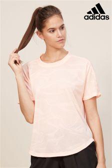 adidas Pink Aeroknit Tee