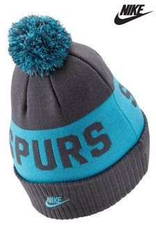 Nike Grey Tottenham Hotspur Football Club Pom Beanie