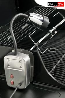 Electric BBQ Light And Universal Rotisserie Kit By Callow