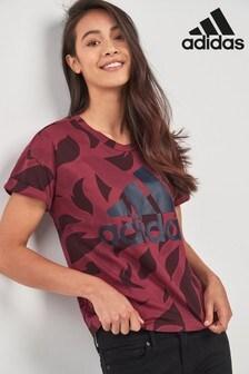 تي شيرت Essential أحمر من adidas