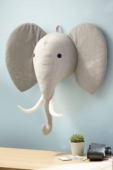 3D Elephant Wall Hanging