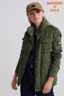 Superdry Green Rookie Jacket