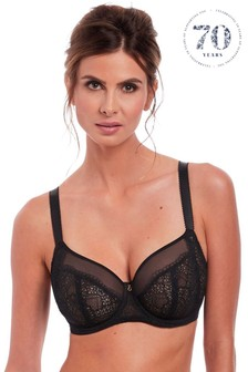 Fantasie Black Twilight Side Support Bra
