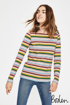 Boden Breton Long Sleeve T-Shirt