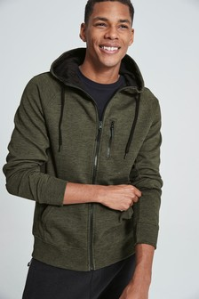 Tech Zip Through Hoody