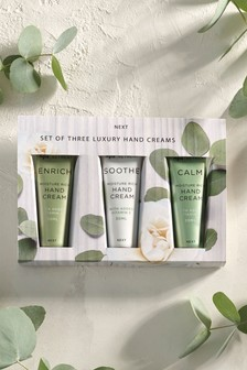 Set of 3 Spa Luxury Hand Creams