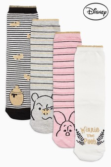 Winnie The Pooh Ankle Socks Four Pack