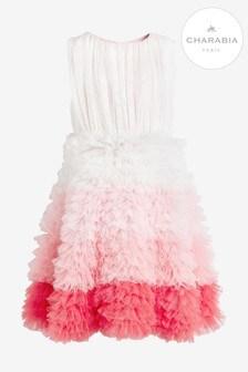 Charabia Pink Ombre Tutu Dress