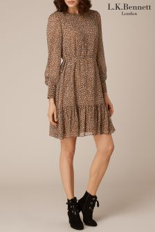 L.K.Bennett Dakota Printed Dress