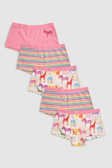 Animal Boxers Five Pack (3-16yrs)