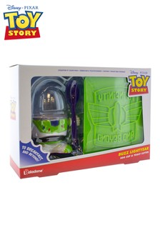 Toy Story Buzz Egg Cup And Toast Cutter