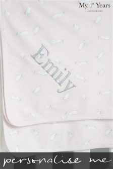 Personalised Bunny Blanket By My 1st Years