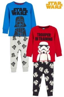 star wars pyjamas two pack 9mths 8yrs - Star Wars Christmas Pajamas