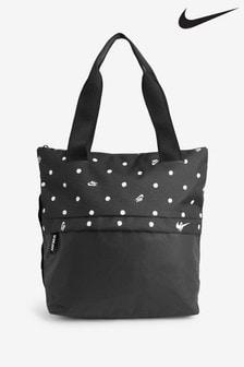Nike Radiate Black Spot Print Tote Bag