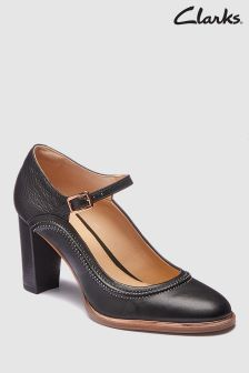 Clarks Ellis Mae Stitch Mary Jane Heel