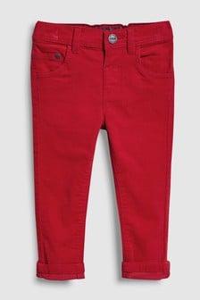 Raztegljive hlače iz rebrastega žameta (3 mesecev–6 let)