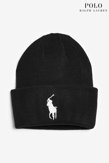 Polo Ralph Lauren Black Beanie Hat