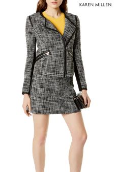 Karen Millen Fun Tweed Jacket