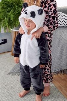 Panda Fleece All-In-One (9mths-16yrs)