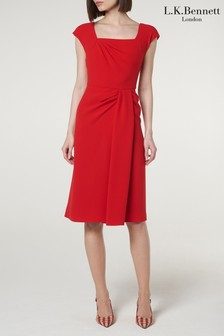 L.K.Bennett Red Denise Dress