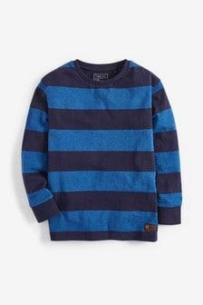 Long Sleeve Stripe T-Shirt (3-16yrs)