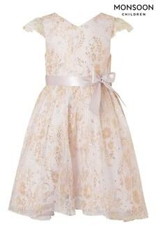 Monsoon Sparkle Lace Dress