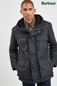 Barbour® Black Genoa Wax Jacket
