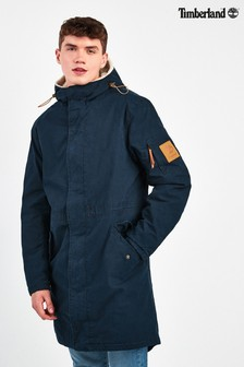 Timberland Navy MT Kelsey Parka with Fleece Lining