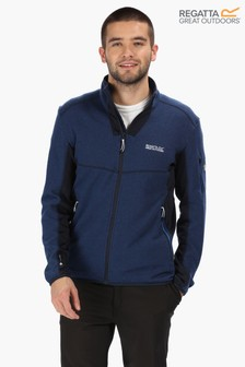 Regatta Blue Kestor Full Zip Fleece Jacket
