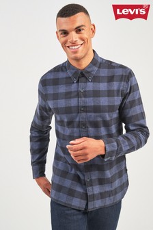 Levi's® Navy Pacific Buffalo Check Shirt