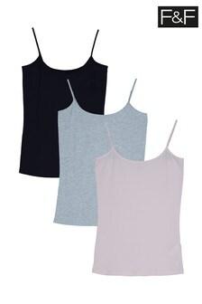 F&F Multi Cami Three Pack