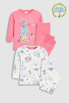 Peter Rabbit Snuggle Pyjamas Two Pack (9mths-8yrs)